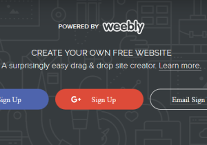 How to Make a Weebly Website