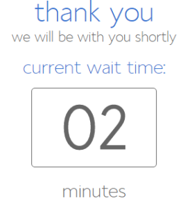 support wait time