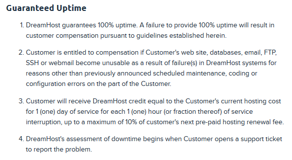 Dreamhost_uptime_guarantee