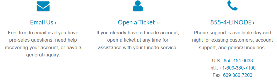 Linode_customersupport