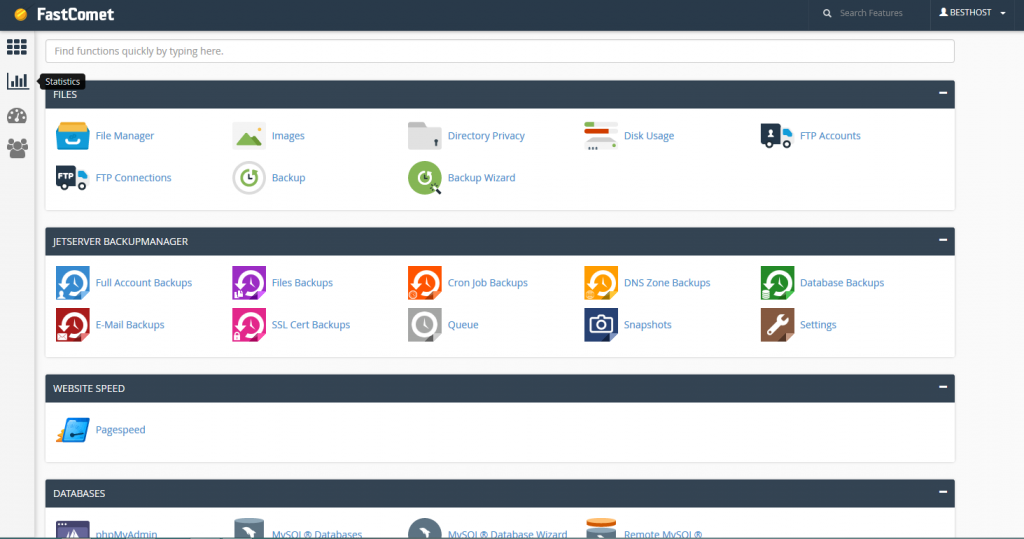 Fastcomet_cpanel
