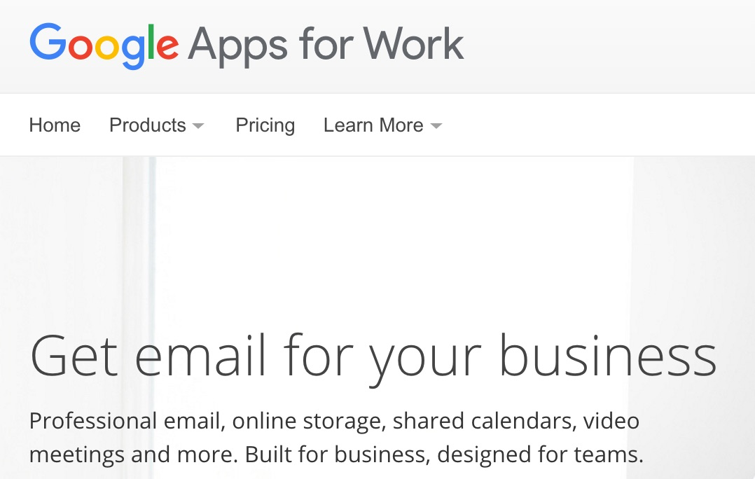 how to set up email domain on google