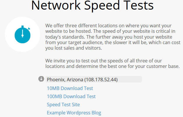Stablehost_speedtest