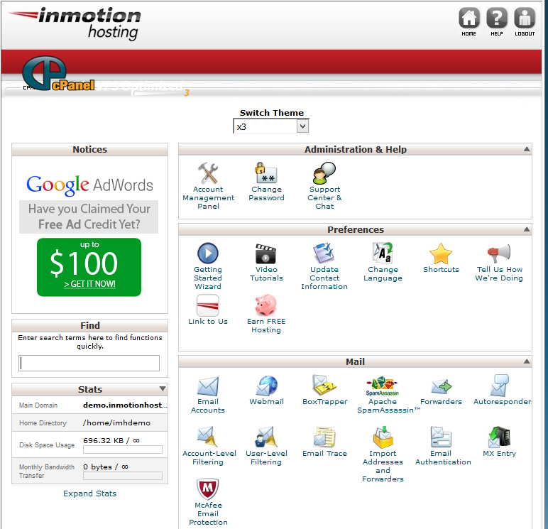 inmotion_cpanel