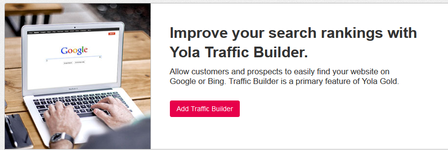 Yola traffic builder
