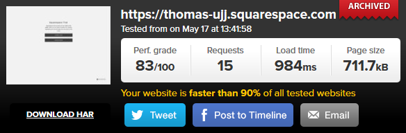 Squarespace speed1