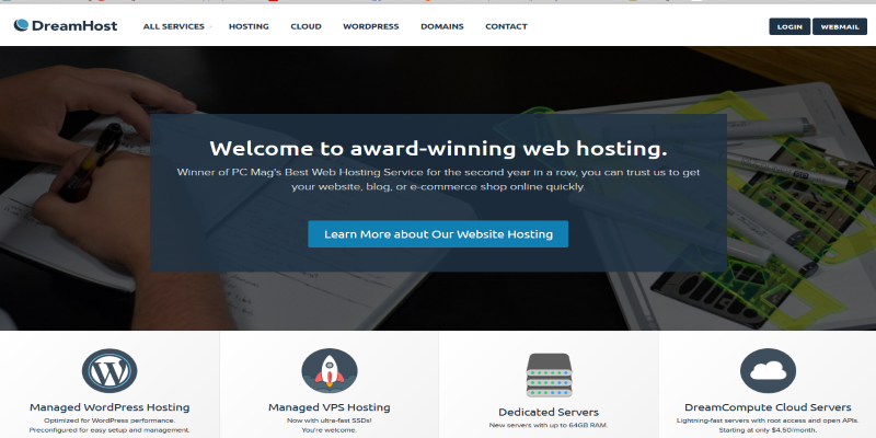 DreamHost WordPress Hosting