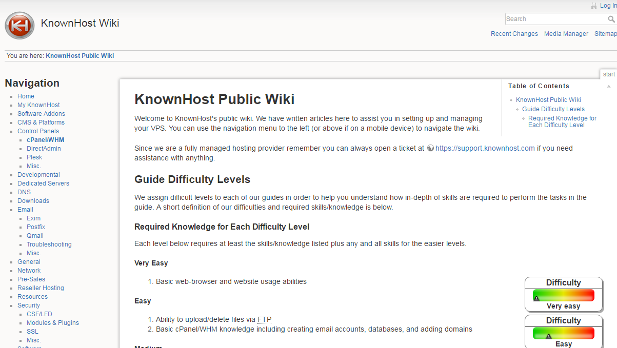 KnownHost Wiki