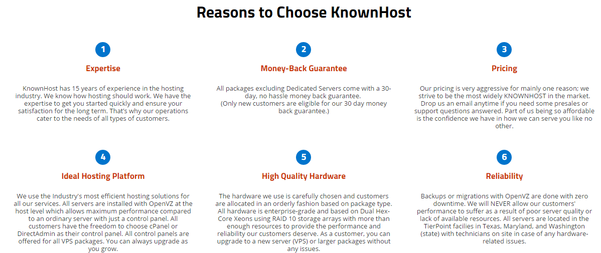 KnownHost Features